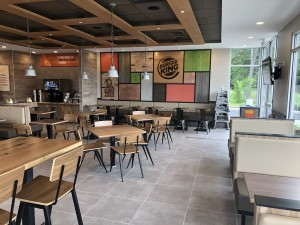Columbus, OH Burger King- Garden Grill Decor Package (view 4)